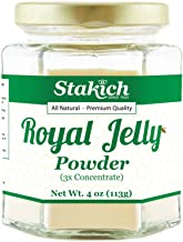 Stakich Fresh Royal Jelly Powder - 4 Ounce - 3X Concentrate - Freeze Dried, Pure, Natural