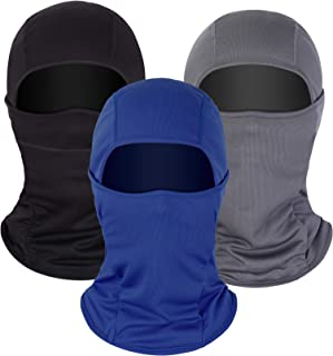 Balaclava Sun Protection Face Mask Breathable Long Neck Cover for Men Usage