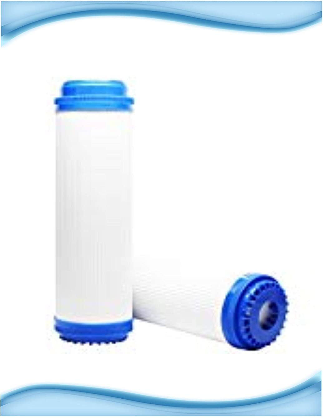 WHKF-GAC and WHCF-GAC Compatible 2.5 X 9.75 Inch Granular Activated Carbon Water Filter Cartridges