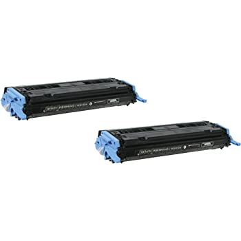 Amazon Com 2 Pack Q6000a Black Toner Cartridge For Hp Compatible With Color Laserjet Cm1015 Cm1017 Mfp 1600 2600n 2605 Dn Dtn Office Products