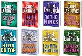 "Janet Evanovich ~ A Stephanie Plum Novel Series ~ 8 Book Bundle # 7-14 Hard Cover (5.5"" X 8"")"