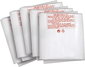 Clear Plastic Dust Collector Replacement Bag 5 Pack 20