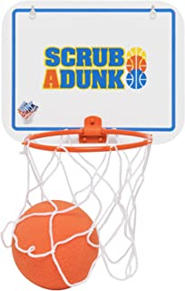The Dunk Collection Scrub-A-Dunk, Bathtub Toy Basketball Hoop for Baby Ballers, Original Theme (21)