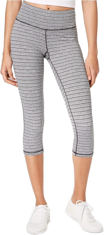 Ideology Women's Striped Cropped Leggings online Popular brand shopping