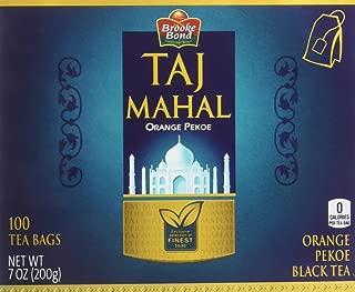 Brooke Bond Taj Mahal Tea (100 tea bags), 7 oz