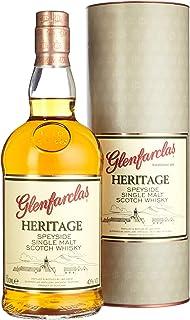 Glenfarclas Heritage Speyside Single Malt Scotch Whisky mit Geschenkverpackung 1 x 0.7 l