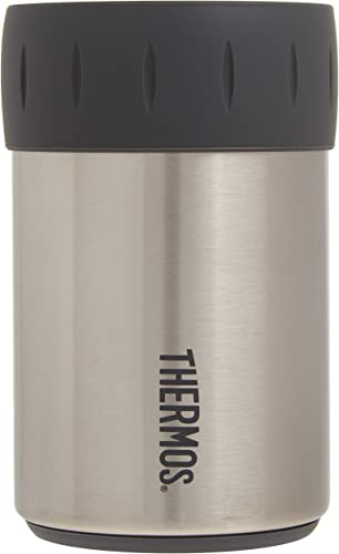 new arrival Thermos wholesale Stainless Steel Beverage Can Insulator outlet sale for 12 Ounce Can, Stainless Steel online sale