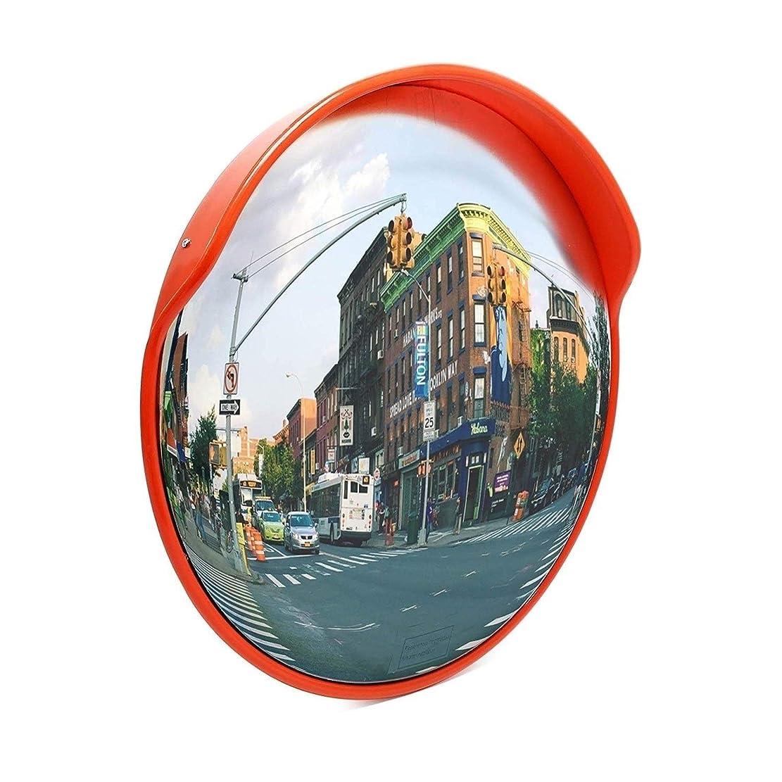 明らかになぞらえる男ZhanMaカーブミラー広角ビューを 屋内安全ミラーガレージ道路交通レンチキュラーコーナーミラー取り付け部品付きオレンジ警告機能45 cm 60 cm 80 cm 100 cm RGJ11-16 (Size : 45cm)