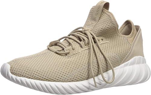 Adidas Originals Men's Tubular Doom Sock PK Running chaussures, Trace Khaki Crystal blanc, 9.5 Medium US