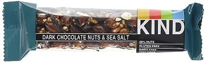 kind bars Dark Chocolate Nuts and Sea Salt Bar, 40 g