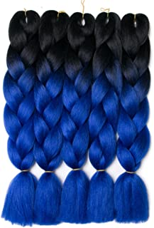 Best black with blue ombre hair Reviews