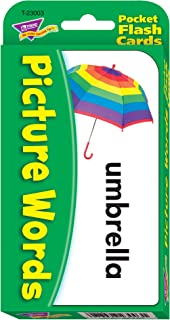 Picture Words Pocket Flash Cards