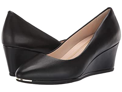 Cole Haan Grand Ambition Wedge 55 mm (Black Leather) Women