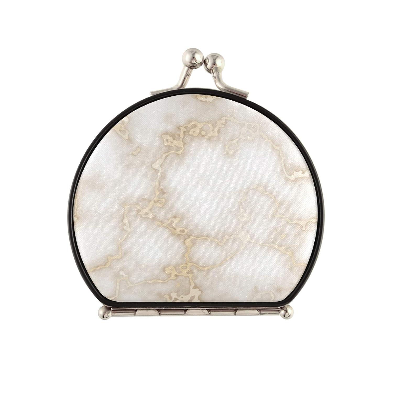 Bargain TravelMagnifiedMakeupMirror Marble Gold Golden Chicago Mall Gi Texture
