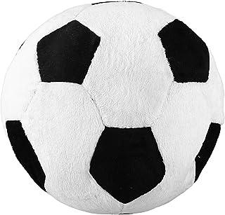 Essenc Soccer Sports Ball Throw Pillow Stuffed Soft Plush Toy for Toddler Baby Boys Kids Gift, 8 inch L X 8 inch W X 8 inc...