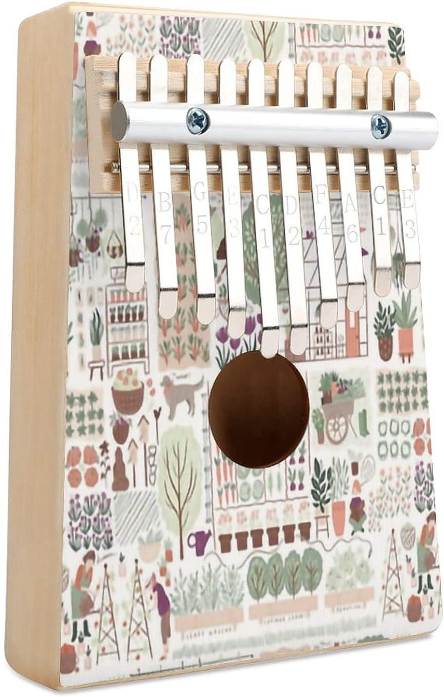 My Favouite Greenhouse Discount mail order San Jose Mall Kalimba Thumb M Piano 10 Finger Key