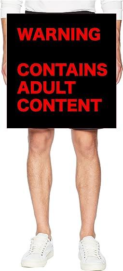PlantLife Reversible Mesh Shorts