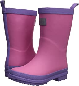 Hatley Kids Pink and Purple Rain Boots (Toddler/Little Kid)