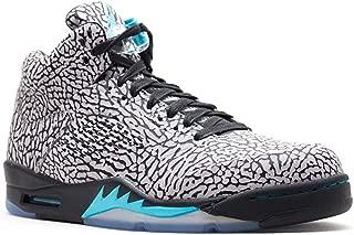 Air 3Lab5 Men's Basketball Shoes Cement Grey/Gamma Blue-Black 599581-007