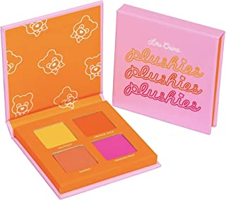 Lime Crime Plushies Sheer Pressed Pigment Quad 4 x 1.67g