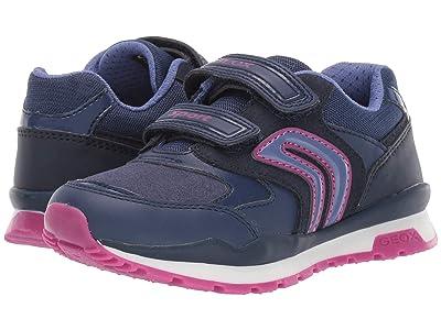 Geox Kids Jr Pavel 5 (Little Kid) (Blue/Purple) Girls Shoes