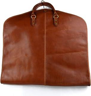 Leather Garment Bag Travel Carry-on Garment Bag Suit Bag Garment Bag mattbrown