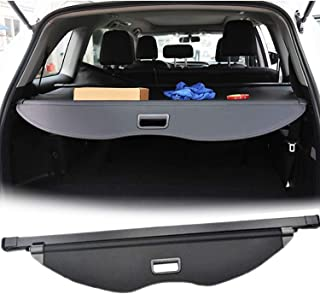 E-cowlboy 【Upgrade Version】 Cargo Cover for Ford Escape 2013~2019 Retractable Trunk Security Shield Shade Waterproof Custom Fit - All Weather Protection