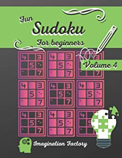 Fun Sudoku for beginners 4: 100 easy puzzles