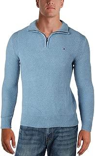 Mens Quarter-Zip Pullover Sweater 78B6543