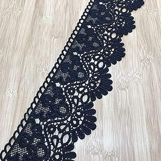 Best black cotton lace trim Reviews