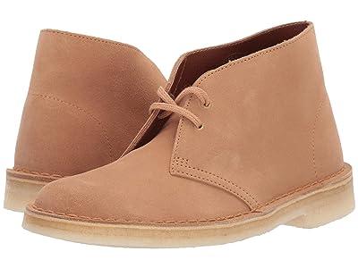 Clarks Desert Boot (Light Tan Suede) Women