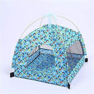 Zdejmowany namiot dla psa Summer Spring Soft Waterproof Sleep Cats Bed Oddychająca, zmywalna hodowla dla zwierząt domowych...