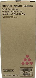 Ricoh OEM 841086 TONER CARTRIDGE (MAGENTA) (841086, 841290, MPC6000, MPC7500) -