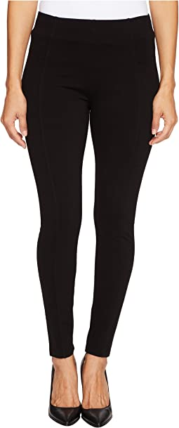 Petite Reece Slimming Waist Panel Leggings in Super Stretch Ponte Knit