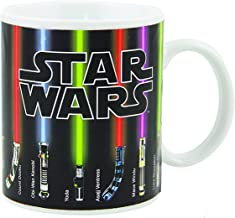 Star Mugs Lightsaber Heat Change Coffee Mug 12 OZ Ceramic - Great Gift For Star Wars Fans!