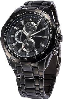 CURREN Analogue Black Dial Men's Watch -Cur007