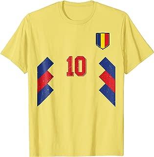 Retro Romania Soccer Jersey 1994 Romanian Football T-Shirt