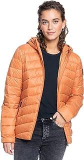 Roxy Women's Coast Road - Lightweight Packable Padded Jacket for Women Windbreaker