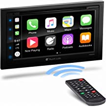 Planet Audio P9950CPA Apple Carplay Android Auto Car Multimedia Player - Double-Din, 6.75 Inch LCD Touchscreen, Bluetooth,...