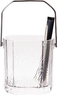 東洋佐々木ガラス アイスペール クリア 約11.6×11×12cm 氷入れ 食洗機対応 日本製 J-55276