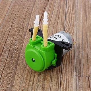 Głowica pompy, pompa perystaltyczna, głowica dozująca z wtyczką, wysokiej jakości mała do akwarium z chemikaliami