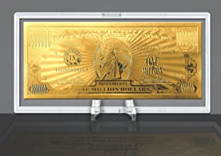 American Art Classics Gold Million Dollar Bill Commemorative
