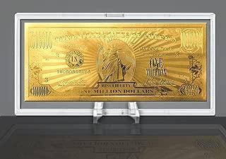 million dollar gold certificate