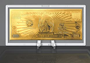 American Art Classics Gold Million Dollar Bill Commemorative