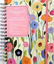 Posh: Organized Living 17-Month 2019-2020 Monthly/Weekly Planner Calendar: Summer's Beauty