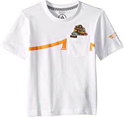Hot Wheels® Pile Up Short Sleeve Pocket Tee (Toddler/Little Kids)