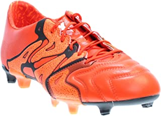 Mens X 15.1 Fg/Ag Leather Soccer Athletic Cleats,