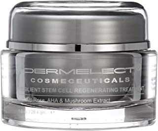 DERMELECT COSMECEUTICALS Rose Stem Cell Regenerating Treatment - Indulgently Rich Cream Infused With Alp Rose Stem Cell Extract (1 Ounce / 28.4 Milliliter - Pack of Two)