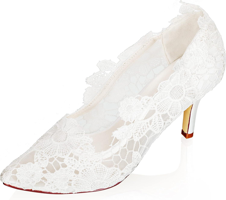 JIAJIA mart 16255 Women's Bridal Shoes 3.14