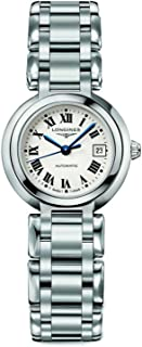 Longines PrimaLuna Silver Dial Stainless Steel Ladies Watch L81114716